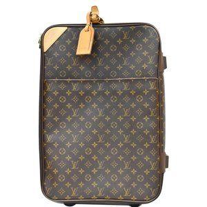 Louis Vuitton Pegase 55 Monogram Travel Suitcase